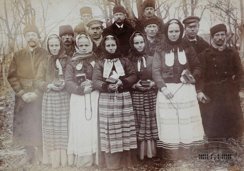 chór kościelny z 1902 gołąb